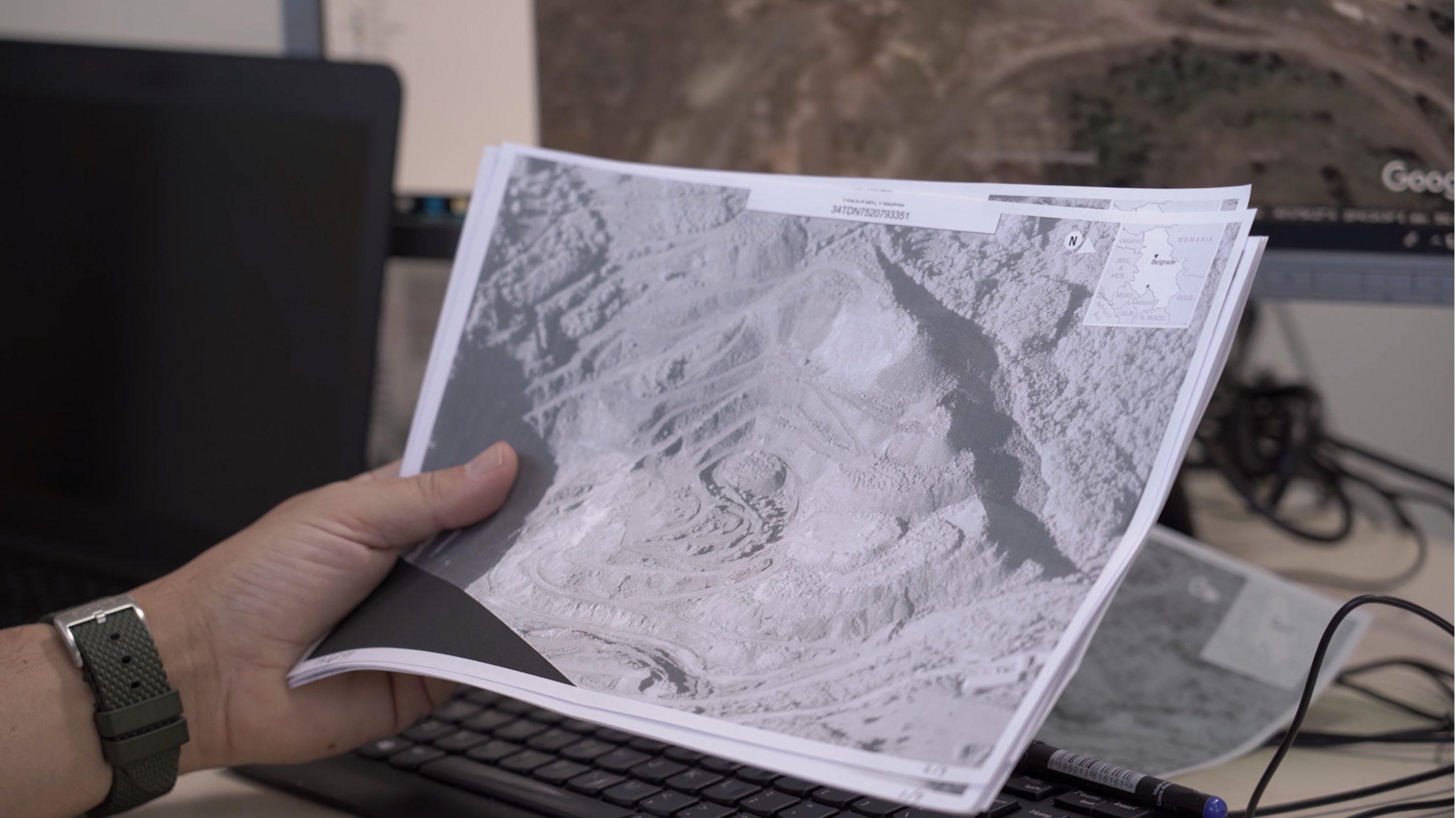 EULEX: Gjetja e eshtrave nëpëmjet imazheve nga ajri