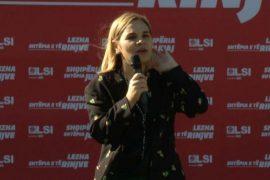 Kryemadhi thirrje shqiptarëve të votojnë kundër Ramës në 25 prill