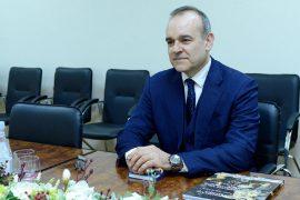Vjen në Tiranë ambasadori i ri i OSBE-së Vincenzo Del Monaco