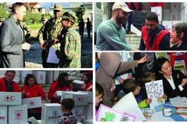 Ambasada e SHBA-ve kujton 1 vjetorin e tërmetit të 26 nëntorit