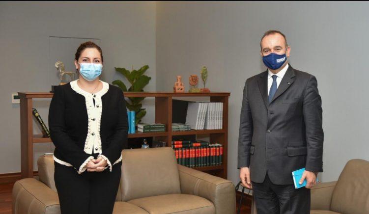 Xhaçka takon ambasadorin e OSBE: Bashkëpunim për të ecur me integrimin europian të Shqipërisë