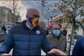 Rama në Vlorë: Reshjet intensive përmbytin edhe Parisin