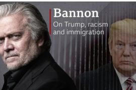 Trump fal 73 të dënuar, mes tyre dhe ish-këshilltarin e tij Bannon
