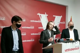 Vetëvendosja prezanton kandidatët në Tiranë e Lezhë