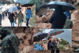 Reshjet e shiut, rënia e gurëve bllokon disa rrugë