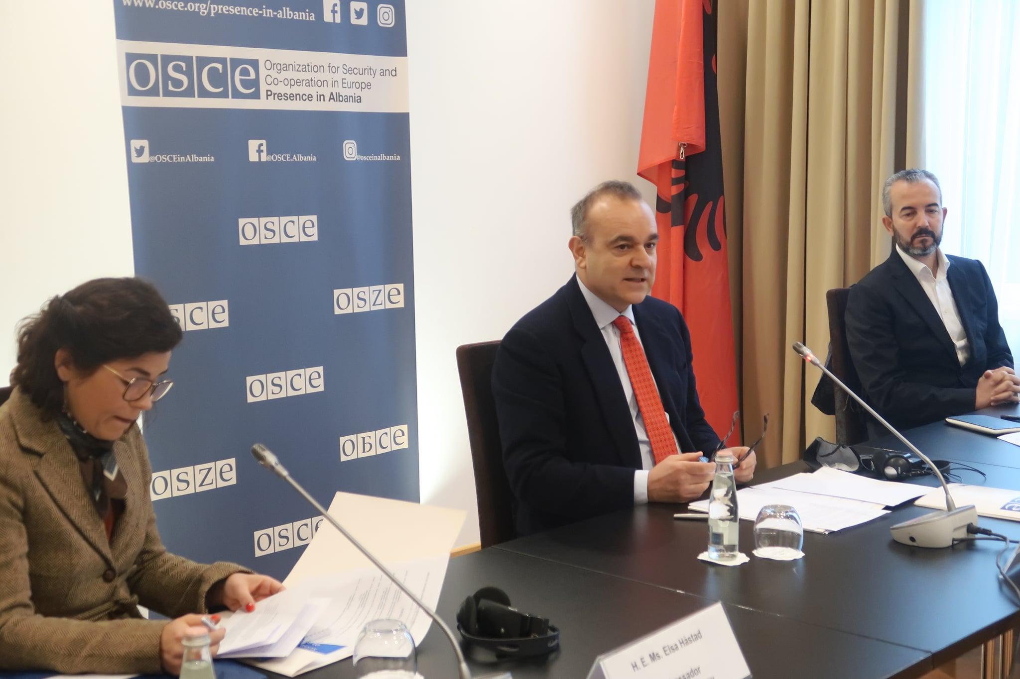 Ambasdori i OSBE-së takon Celibashin për përgatitjet e zgjedhjeve