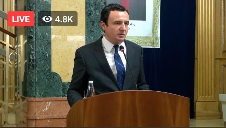 Albin Kurti, kandidati për kryeministër i Vetëvendosjes
