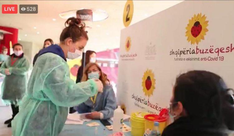 42 mjekë të pediatrisë vaksinohen kundër Covid-19