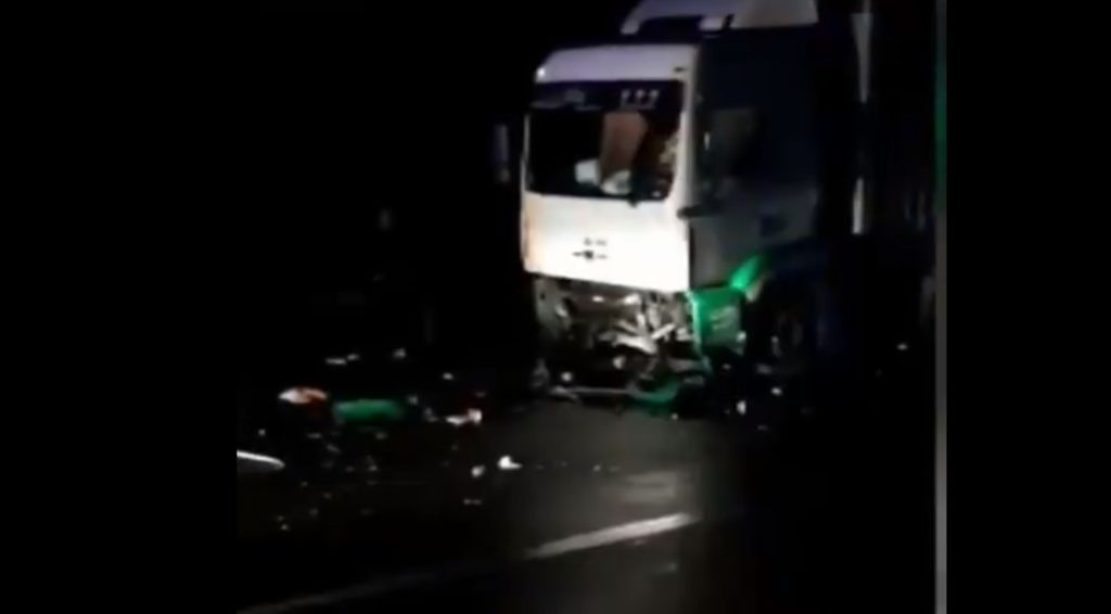Aksident në Rrugën e Kombit, humbin jetën 4 persona nga një familje