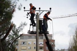 Ndërprerje energjie në Durrës si pasojë e përmbytjes