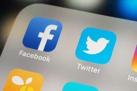 Bie vlera e Twitter dhe Facebook në bursë pas pezullimit të Tramp