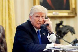 Tramp kërkon të qetësohet situata dhe të mos ketë dhunë