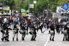 """Maqedoni e Veriut: Përleshje mes familjarëve shqiptar të të akuzuarve për rastin """"Monstra"""" dhe policisë"""