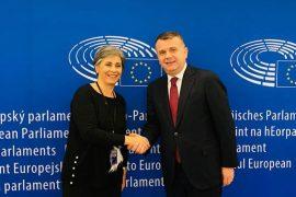 Balla falënderon Isabela Santos për miratimin e rezolutës së PE