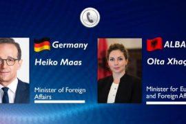 Xhaçka pas takimit me Heiko Maas: Reforma në Drejtësi e pandalshme