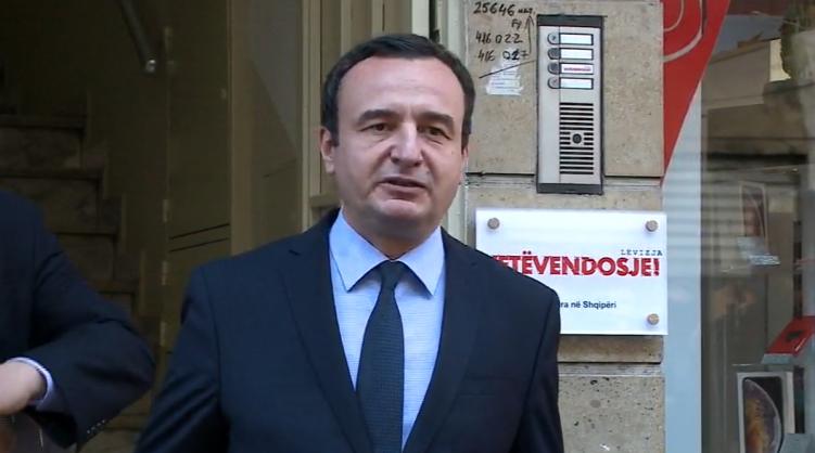 Kurti: Shqiptarët kanë nevojë për ndryshim