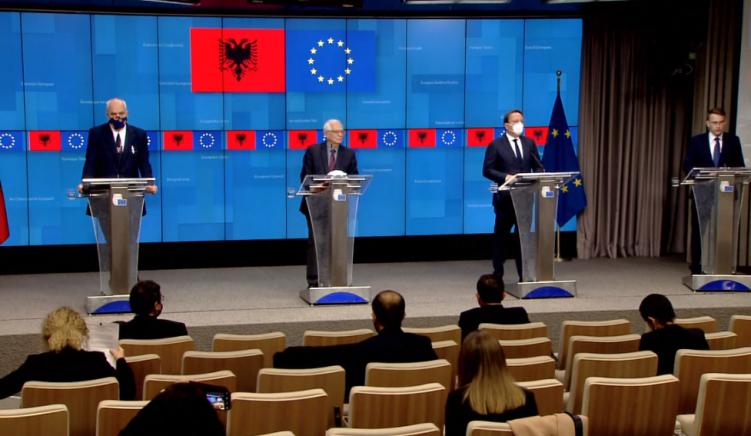 Borrel: Shqipëria ka bërë progres, por miratimi i kuadrit negociues do të varet nga hetimi i blerjes së votave