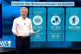 Punëtorët e pakualifikuar nga jashtë, ndikimi i tyre në ekonominë shqiptare