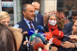 Ambasadori i BE-së, Francës dhe Gjermanisë takim me drejtuesit politikë të Elbasanit