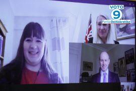 Përfaqësuesë të partisë Konservatore në Britani i urojnë fitoren Bashës më 25 prill